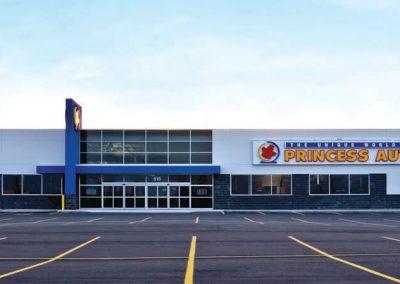 Princess Auto Retail Store & Glass Tower Reimaging